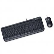 Kit Teclado e Mouse Microsoft Wired Desktop 600 USB - APB-00005
