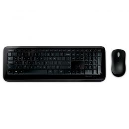 Kit Teclado e Mouse Wireless Desktop 850 Preto WITH AES Microsoft PY9-00021