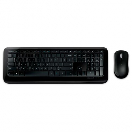 Kit Teclado e Mouse Wireless Desktop 850 Preto WITH AES Microsoft PY9-00021