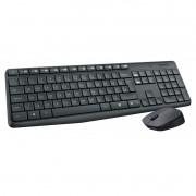 Kit Teclado+mouse S/FIO Preto MK235 Wireless Logitech