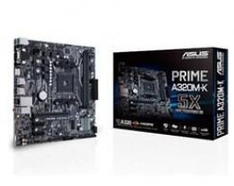MB P/ AMD AM4 , Chipset A320, RYZEN, 32GB, DDR4 2666MHZ, 2PCI-E X16, 1 PCI-E X1, USB 3.0, Sata, M-ATX
