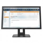"Monitor HP V22B - 21,5"" C/ Ajuste de Altura"