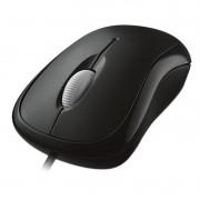 Mouse Microsoft Basic Optical USB Preto 3 Botoes  - P58-00061