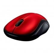 Mouse Mini sem Fio RC/NANO M185 Vermelho Logitech
