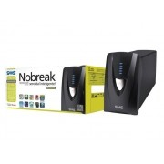 Nobreak Senoidal Interactive SMS 27570 Manager III 700BI ENT BIV Saida 115V 4 Tomadas