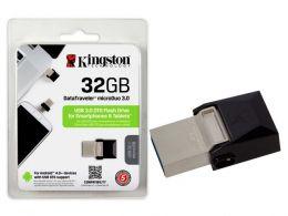 Pen Drive Kingston 32GB USB Dtduo Data Traveler Micro DTDUO3/32