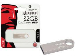 Pen Drive Kingston Datatraveler DTSE9H/32GB / USB 2.0 / 32GB Prata
