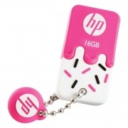 Pen Drive Mini HP USB 2.0 V178P 16GB PINK HPFD178P-16