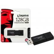 Pen Drive USB 3.0 Kingston DT100G3/128GB Datatraveler 100 128GB Generation 3
