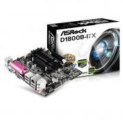 PL Mãe D1800B-ITX ASROCK com Processador INTEL Dual Core 2.4GHZ J1800 D1800B-ITX;M;CKD;BRA