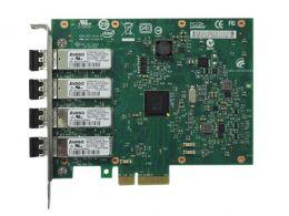 Placa de Rede Server INTEL E1G44HFBLK PCI-EX X4 CHIP 82580 Quad PORT LC Fiber 1GBIT