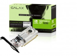 Placa de Video Galax Geforce GT 1030 EXOC White 2GB DDR5 64 BITS - 30NPH4HVQ5EW