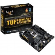 Placa Mae ASUS Micro ATX LGA (1151) - DDR4 - TUF B360M-PLUS GAMING/BR