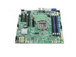 Placa Mae Servidor INTEL DBS1200SPSR Xeon E3-1200V5 DDR4 UDIMM 2X Rede GBE LGA 1151