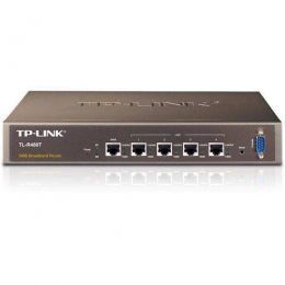 Roteador Broadband com Equilíbrio de Carregamento TL-R480T+ TP-LINK Gigabit VPN DUAL-WAN