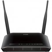 Roteador D-LINK Wireless N300 TR-069 com Preset & VLAN IPTV/VOIP - DIR-615 X1