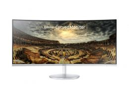 "Samsung Monitor C34F791 FULL HD 34"" LED 2HDMI/2USB/DISPLAY PORT Curvo Branco"