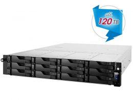 Sistema de Backup e Video Vigilancia NAS Asustor AS6212RD INTEL Quad Core J3160 1,6GHZ 4GB DDR3 RACK 12 Baias