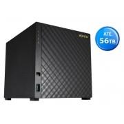 Sistema de Backup NAS Asustor AS1004T V2 Marvell ARMADA 385 1,6 GHZ 512MB DDR3 Torre 04 Baias