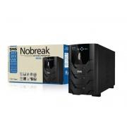 SMS - Nobreak - Power Sinus UPS 2400 VA - Bivolt 115 NG Senoidal (novo)