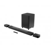 """Soundbar JBL 9.1 True Wireless Surround com 5.1.4 Canais, DOLBY ATMOS 3D, Subwoofer sem Fio 10"""", DOLBY Vision, Bluetooth - 410W"""
