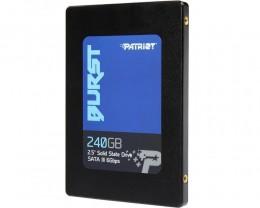 SSD Interno Patriot BURST 240GB 2,5 SATA III Leitura 555MBS GRAV 500MBS (PBU240GS25SSDR)