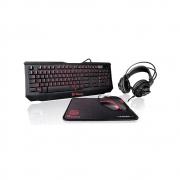 Teclado + Mouse TT ESPORTS Gaming Combo KIT/LIGHTING KB-GCK-PLBLPB-01 Thermaltake