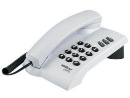 Telefone com Fio Pleno sem Chave Cinza Artico Intelbras