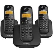 Telefone Intelbras sem Fio TS3113 Preto - 4123103