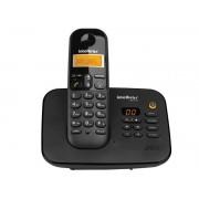 Telefones sem Fio Intelbras ICON 4123130 TS 3130 Digital Preto com Secretaria Eletronica