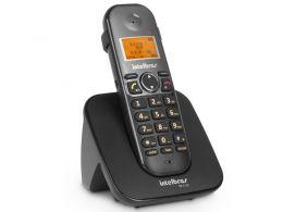 Telefones sem Fio Intelbras ICON 4125120 TS 5120 Preto Viva VOZ/ Identificador de Chamadas