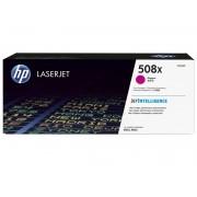 Toner Laserjet Color HP Suprimentos CF363X HP 508X Magenta M553DN