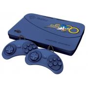 Video Game Master SYSTEM Tectoy - 132 Jogos Completos   2 Joystics - MSEB - 132 Jogos AZUL Bivolt