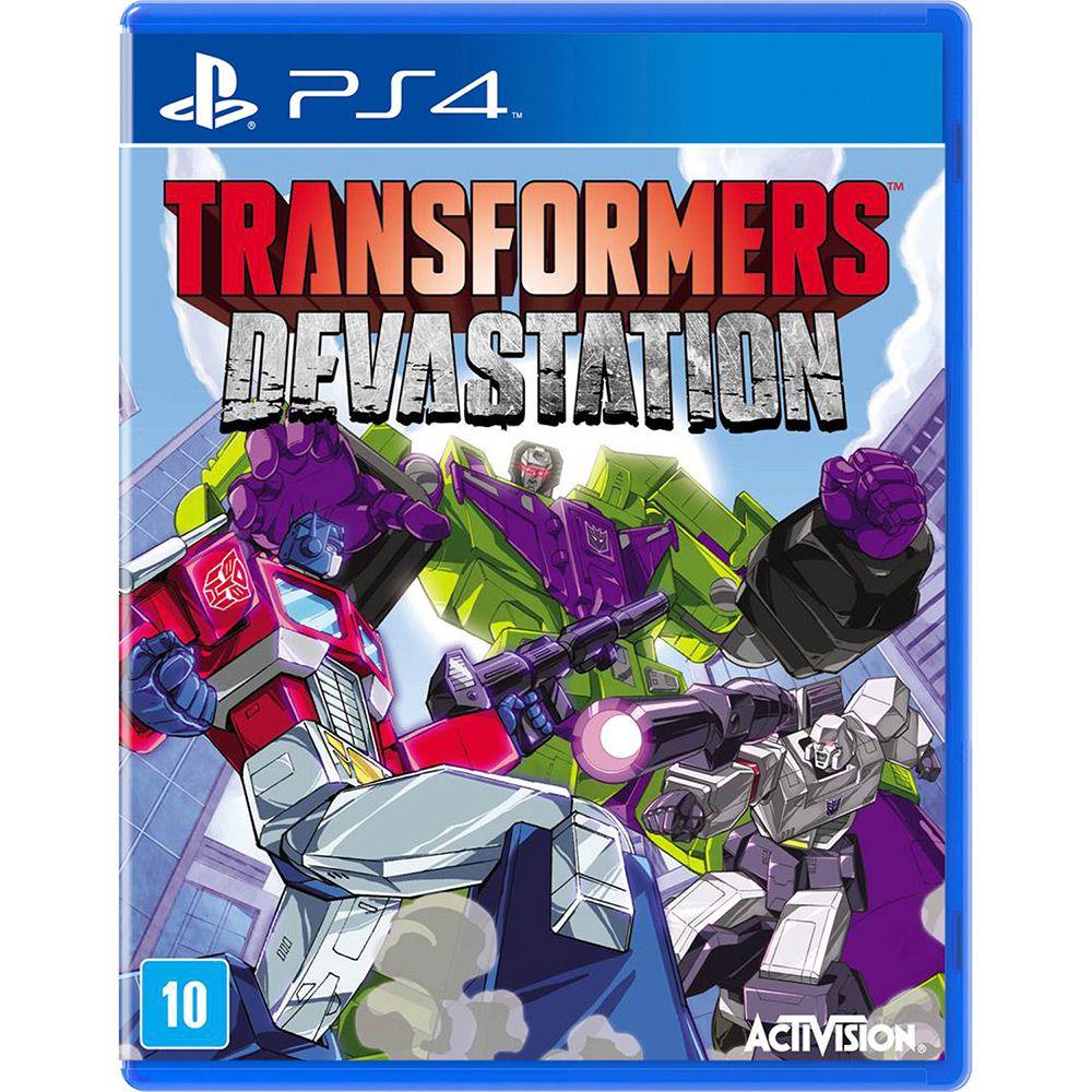 AB000011PS4 Transformers Devastation - PS4