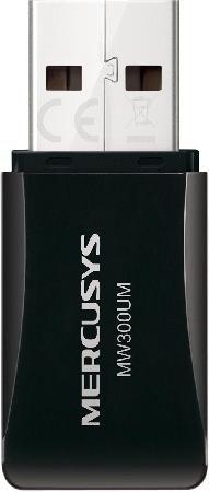 Adaptador Mercusys MW300UM Wireless USB N 300MBPS