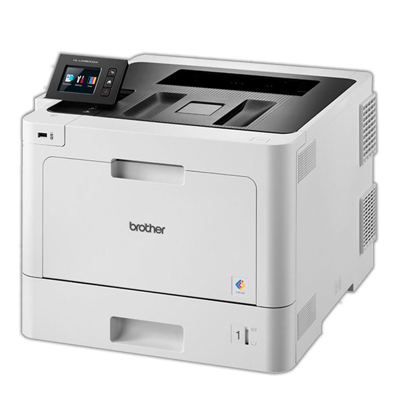 Brother Impressora Laser Color HL-L8360CDW Branca 33PPM / CM 30.000