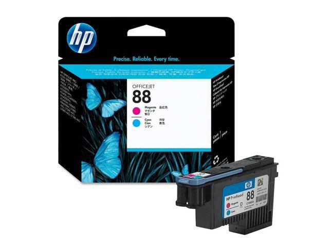 Cabeca de Impressao HP Suprimentos C9382A HP 88 Magenta e Ciano