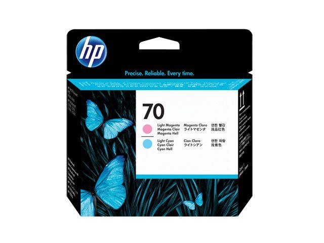 Cabeca de Impressao Plotter  HP Suprimentos C9405A HP 70 Magenta Claro e Ciano Claro