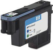 Cabeca de Impressao Plotter  HP Suprimentos C9408A HP 70 AZUL e Verde