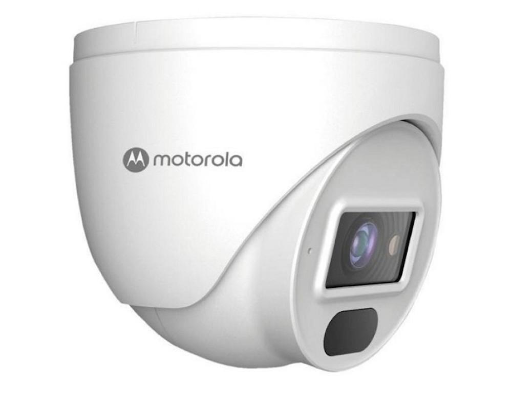 Camera de Vigilancia Motorola IP Image Bullet Metal e Plastico 2MP H.265 Lente 3.6 3 ANAL. IR20M/IP66/POE-L (MTIDM022602)