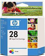 Cartucho de Tinta HP Suprimentos C8728AL HP 28 Tricolor 8ML