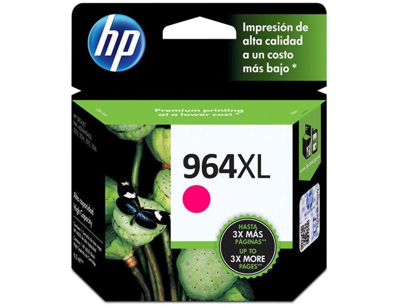 Cartucho de Tinta Officejet HP Suprimentos 3JA55AL HP 964 XL Magenta