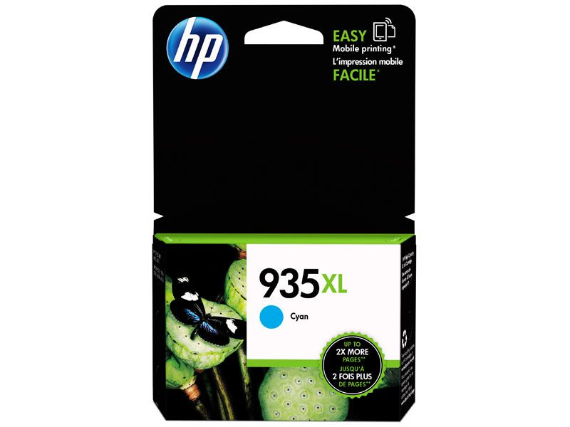 Cartucho de Tinta Officejet HP Suprimentos C2P24AB HP 935XL Ciano 9,5 ML