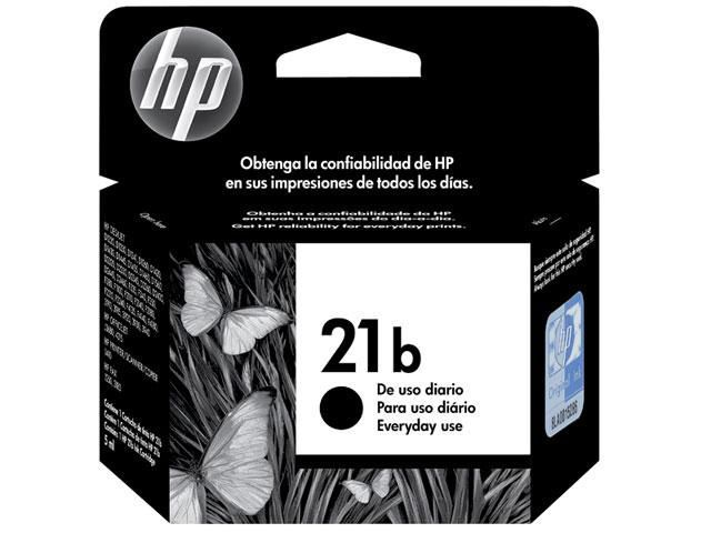 Cartucho HP 21B Everyday Preto 7ML - C9351BB