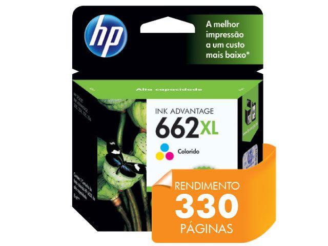 Cartucho HP 662XL Tricolor 8ML- CZ106AB