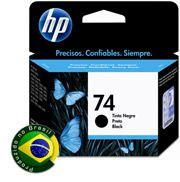 Cartucho HP 74 Jato de Tinta Preto 6ML - CB335WB