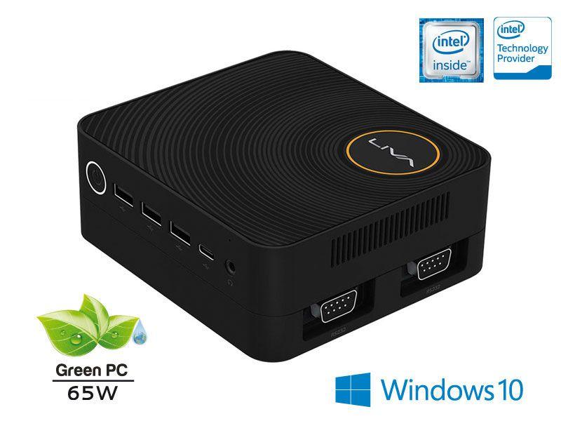 Computador Liva ZE INTEL Windows Ultratop ULN3350430W Dual Core N3350 4GB SSD 30GB HDMI USB Rede WIN10