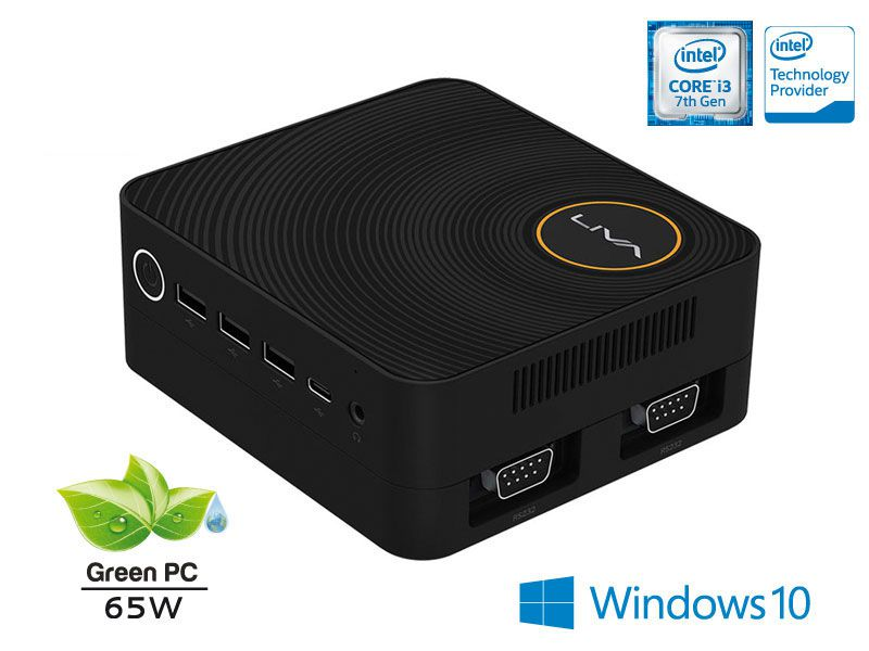 Computador Liva ZE PLUS INTEL Windows Ultratop UL7100U4120W Core I3-7100U 4GB SSD 120GB HDMI USB Rede WIN10
