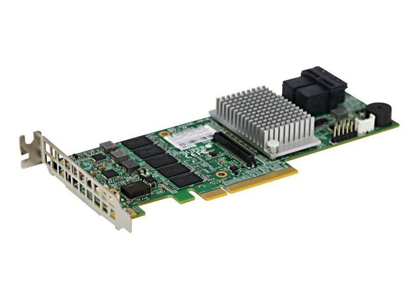 Controladora Supermicro AOC-S3108L-H8IR Raid SAS 3.0 PCI-E X8 2GB 2 IPASS