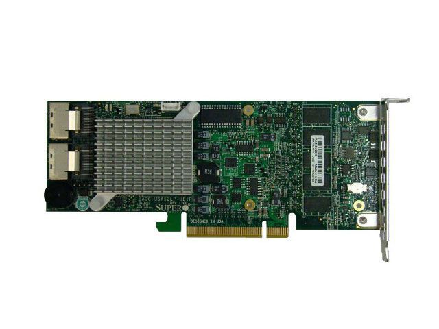 Controladora Supermicro AOC-SAS2LP-H8IR Raid SAS PCI-EX8 512MB 2 IPASS